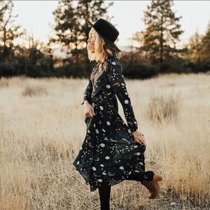 Roolee Atlas Ferns Dress